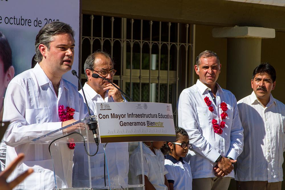 Mensaje del secretario de Educación Pública, Aurelio Nuño Mayer, durante la Inauguración de la escuela primaria Héroes de Chapultepec/Evolución Social