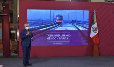 Gómez Parra afirmó que la obra se lleva a cabo a través de tres etapas