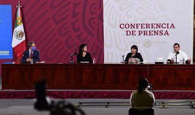 Conferencia de Prensa. Informe diario sobre programas de bienestar. Jueves, 22 de octubre de 2020.