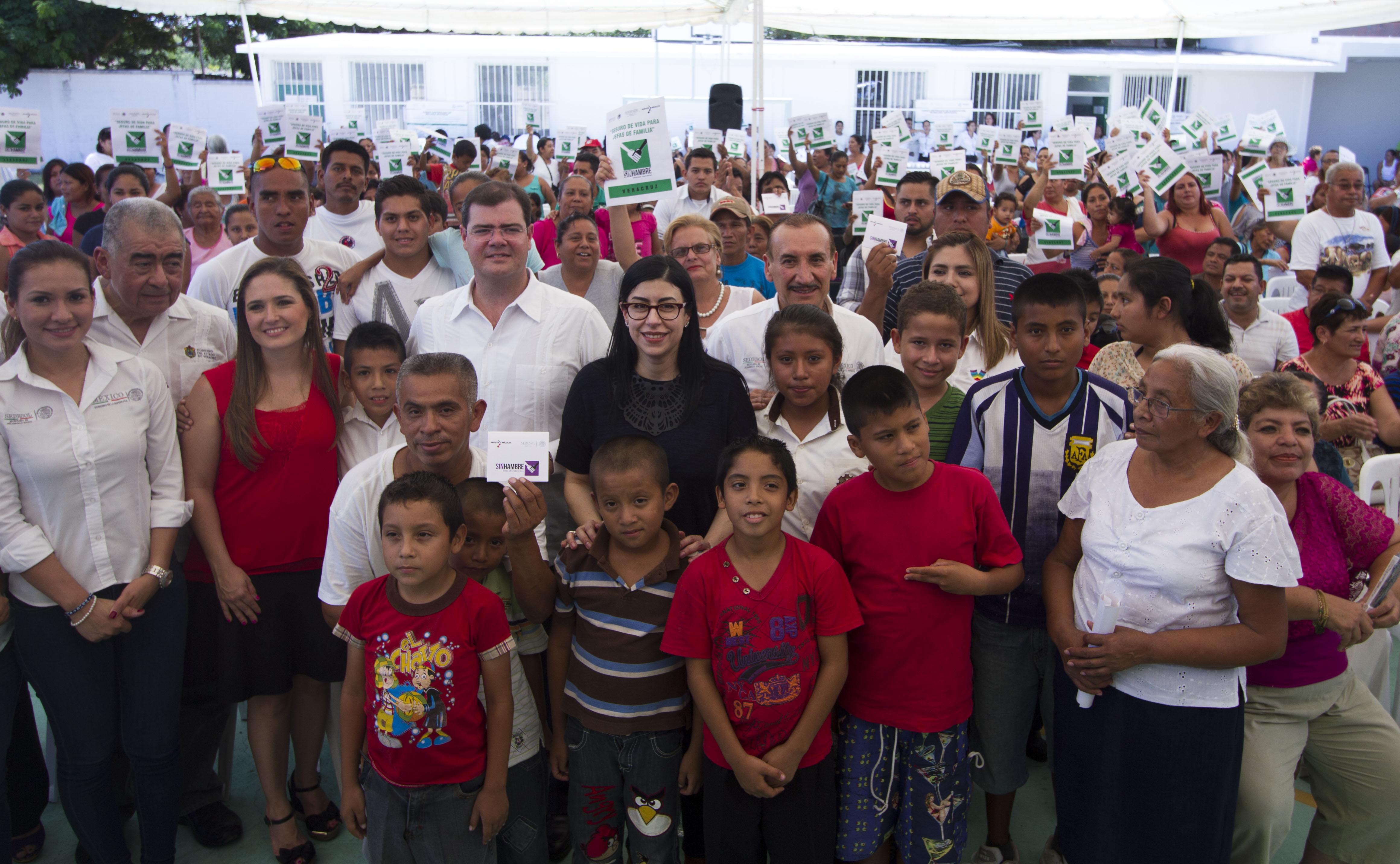 Subsecretaria Vanessa Rubio Márquez en el marco de su gira de trabajo en Veracruz