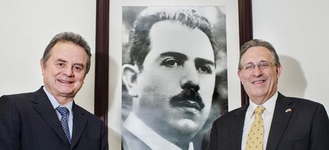 El Secretario de Energía, Pedro Joaquín Coldwell, recibió al Embajador de los Estados Unidos en México, Anthony Wayne