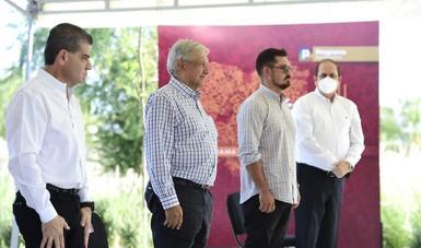 Entrega Sedatu 34 obras a comunidad y autoridades en Piedras Negras