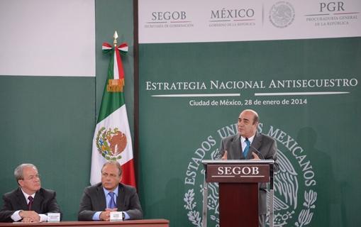 Palabras del Procurador General de la República, Jesús Murillo Karam