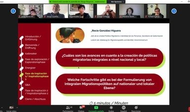 Participa Gobernación en la serie de diálogos 'Procesos migratorios en México y Alemania'