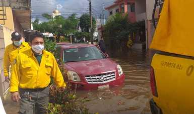 La Secretaría de Medio Ambiente y Recursos Naturales y sus organismos se sumaron en la atención de la emergencia por las afectaciones en los estados de Tabasco y Chiapas, ocasionados por diversos fenómenos meteorológicos.