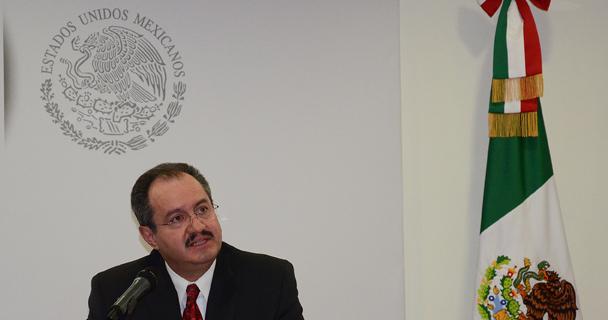 Conferencia de prensa ofrecida por el encargado de la SEIDO, Rodrigo Archundia Barrientos