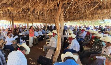 El sector ambiental reiteró su compromiso de trabajar de la mano con los ocho pueblos de la comunidad Yaqui.
