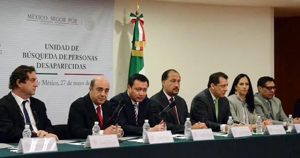 Mensaje de Jesús Murillo Karam,en la presentación de la Unidad de Búsqueda de Personas Desaparecidas