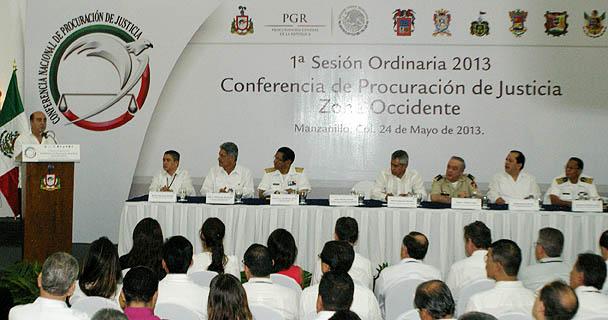 Mensaje del Procurador General de la República, Jesús Murillo Karam en la CNPJ, zona Occidente