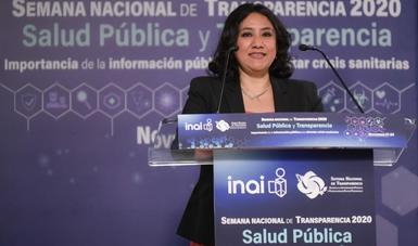 Información y salud son indispensables para el desarrollo: Secretaria Sandoval Ballesteros