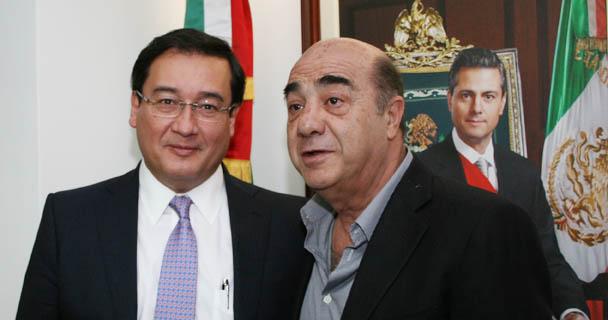 Se reúne el Procurador Jesús Murillo Karam con el Fiscal General de El Salvador