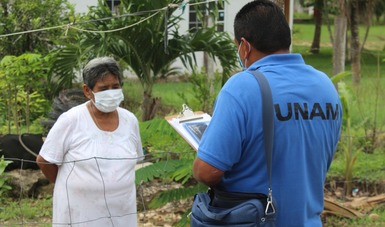 Los encuestadores deberán identificarse como personal de la UNAM.
