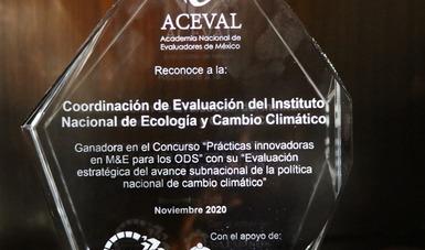 La evaluación estratégica a la política climática subnacional fue realizada por la Coordinación de Evaluación, encabezada por el INECC.