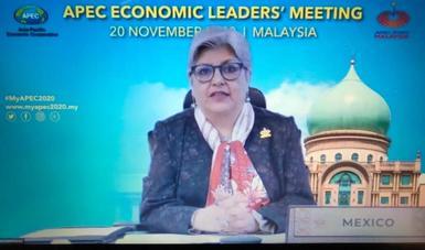 México participa en la 27ª Reunión de Líderes Económicos de APEC