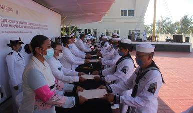 Personal Naval que ascendió al Grado Inmediato Superior