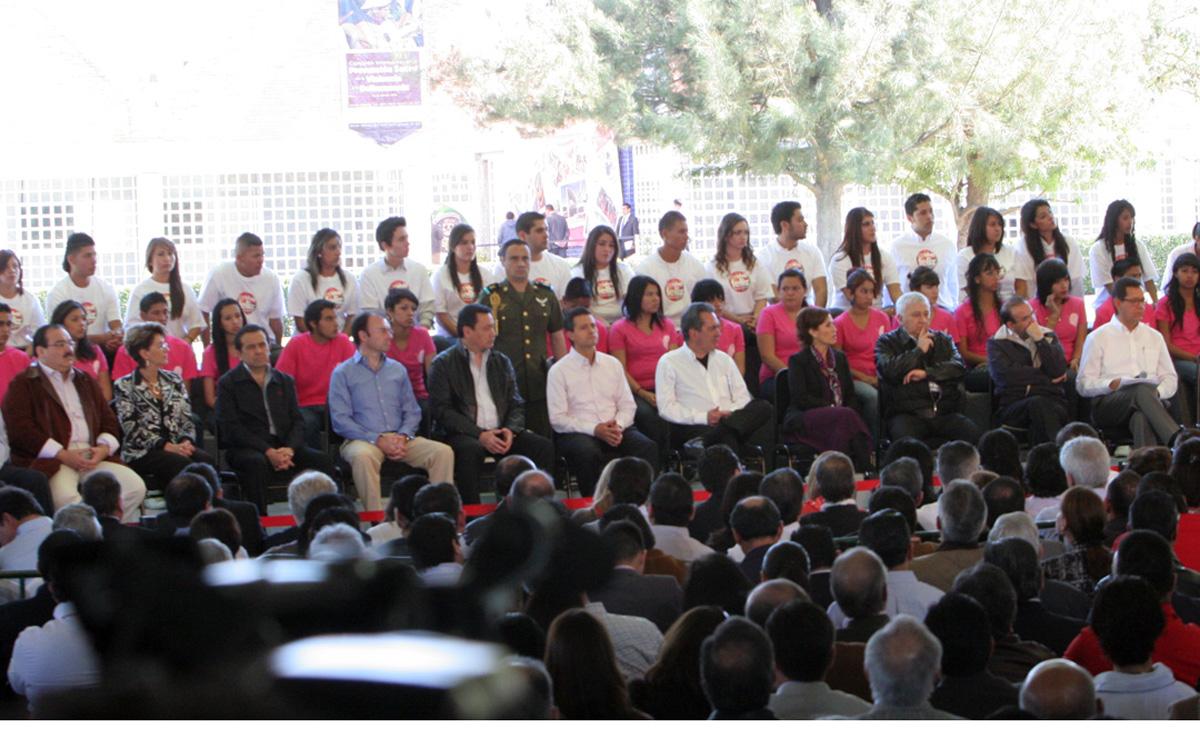 El titular de la SEDATU, Jorge Carlos Ramírez Marín, acompañó al Presidente Enrique Peña Nieto en la integración de la Comisión Intersecretarial para la Prevención Social de la Violencia y la Delincuencia.