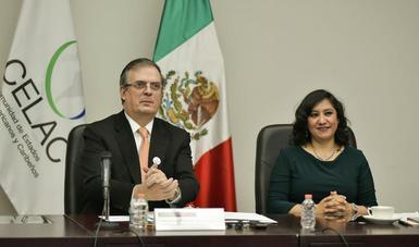 Secretaria Irma Eréndira Sandoval preside la IV reunión de ministros anticorrupción de la Comunidad de Estados Latinoamericanos y Caribeños