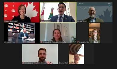 Concluye exitosamente la reunión anual de la Alianza México-Canadá