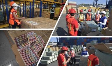 Acciones del IMPI en puertos
