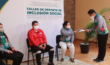 Taller de Deporte de Inclusión Social 2020