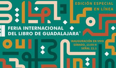 Canal 22 transmitirá lo más destacado de la Feria Internacional del Libro (FIL) de Guadalajara, que este año se llevará a cabo de manera virtual.