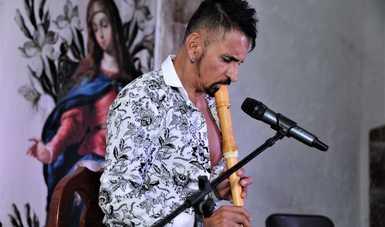 El músico destacó que la sociedad se ha percatado que el confinamiento le ha privado no solo del entretenimiento, sino también el acercamiento al conocimiento, a la sensibilización, al humanismo. Fotografía: Mauricio Marat / INAH.