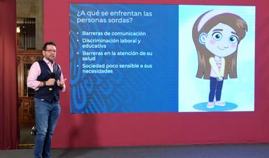 Dr. Rocardo Cortes Alcala, Director de Prevención y Promoción de la Salud.