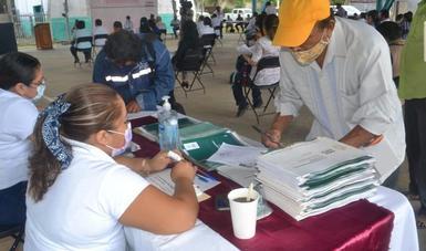 La participación de las comunidades indígenas continúa.
