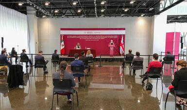 Versión del mensaje de la secretaria de Economía, Graciela Márquez Colín, en la firma del Acuerdo sobre el Reconocimiento Mutuo y la Protección de las Denominaciones de Origen de las Bebidas Espirituosas entre los Estados Unidos Mexicanos y el Reino Unido