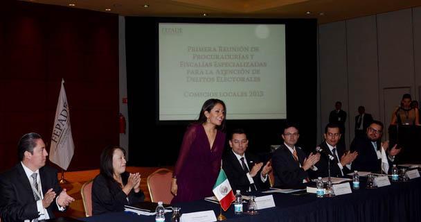 Se lleva a cabo la primera reunión nacional de Procuración de Justicia Electoral