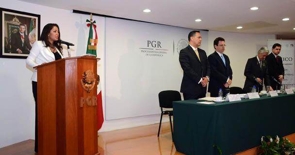 Intervención de la Subprocuradora Mariana Benítez, en el Foro Justicia y Derechos Humanos.
