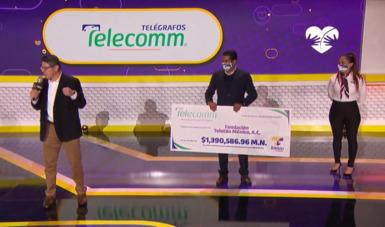 El Dr. Horacio Esquivel hizo entrega de donativo al Teletón
