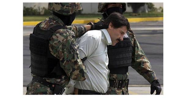 Detención y consignación de Joaquín Guzmán Loera