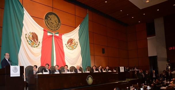 Jesús Murillo Karam y Emilio Lozoya Austin