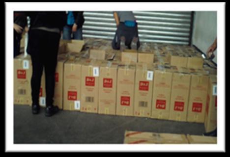 Asegura PGR más de 16 millones de cigarros de contrabando