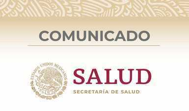Logotipo de la Secretaría de Salud.
