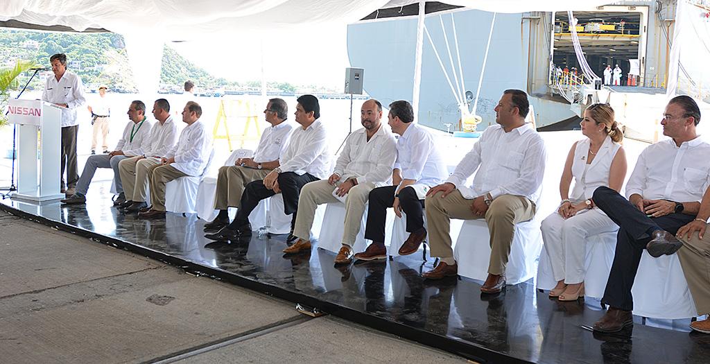 Relanzamiento comercial del Puerto de Mazatlán como puerta del corredor económico del norte
