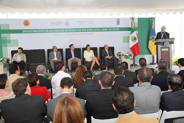 Gira del Titular de la SEMARNAT por el estado de Jalisco