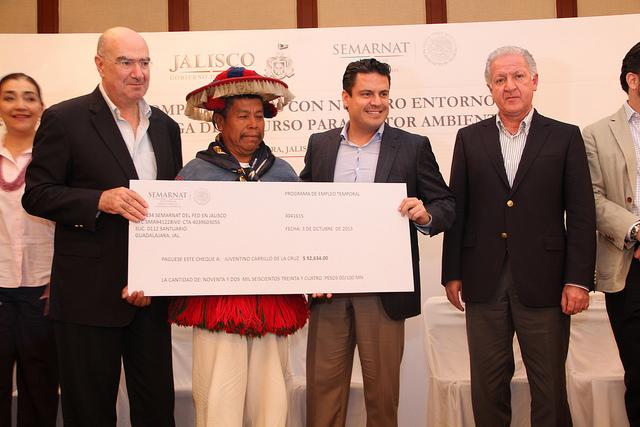 Anunció Abud recursos del sector ambiental para Jalisco