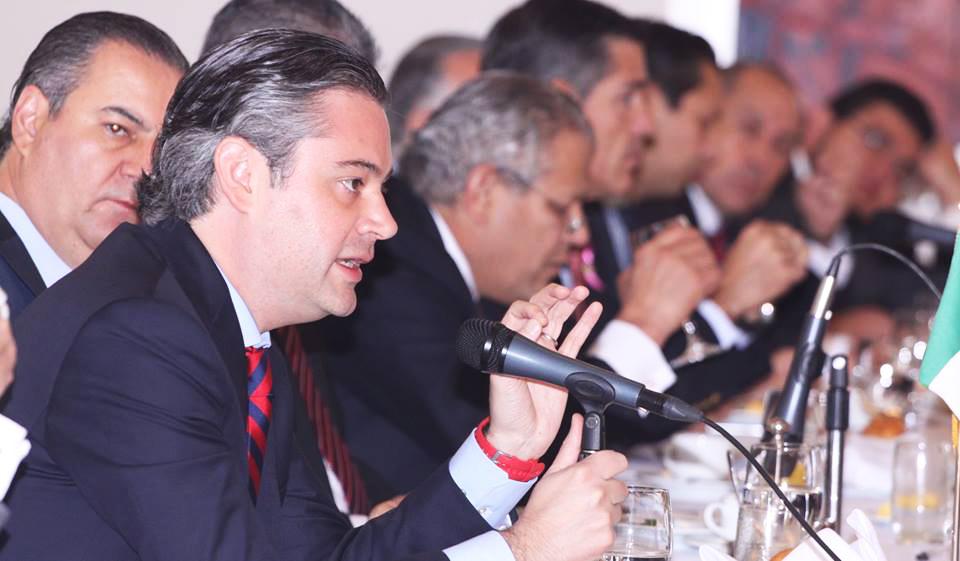 Entrevista al secretario de Educación Pública, Aurelio Nuño Mayer, al término de la reunión que sostuvo con integrantes del Consejo Coordinador Empresarial