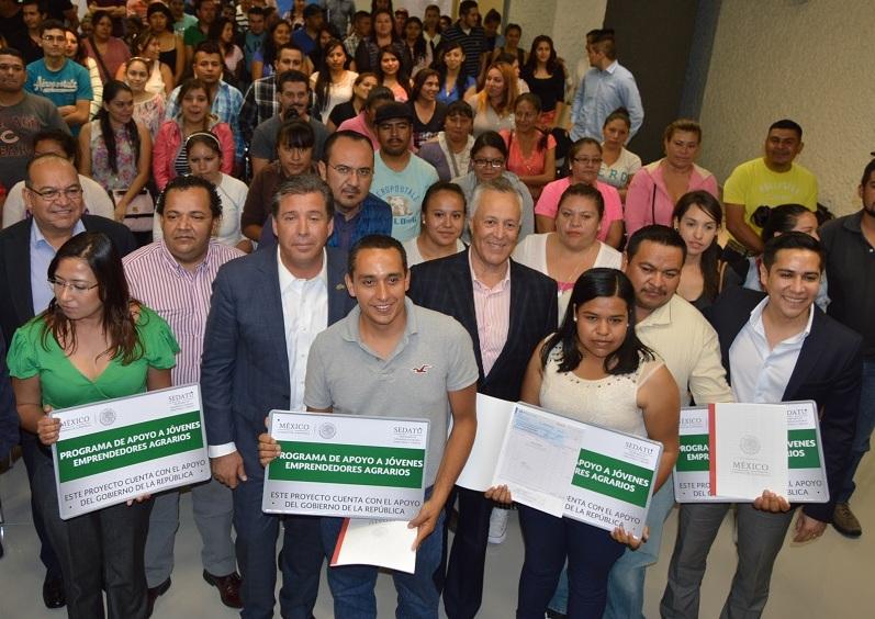 La SEDATU ha entregado cinco millones 368 mil 166 pesos en Guanajuato para apoyar siete proyectos de jóvenes emprendedores en los últimos dos años.