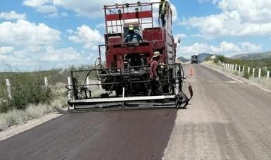 Los recursos están distribuidos en 31 estados de la República y tienen el propósito de que las carreteras federales libres de peaje en mal estado pasen del 14 al 10 por ciento, para el próximo año.