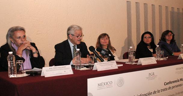 Palabras del Subprocurador de Derechos Humanos de la Procuraduría General de la República, Ricardo García Cervantes