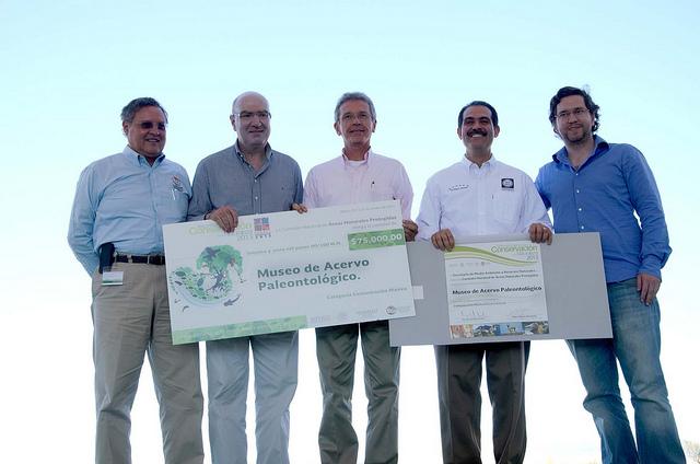 Titular de la SEMARNAT entrega Reconocimiento a la Conservación de la Naturaleza