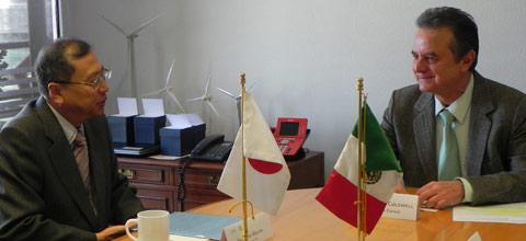Proponen México y Japón estrechar la colaboración en materia energética