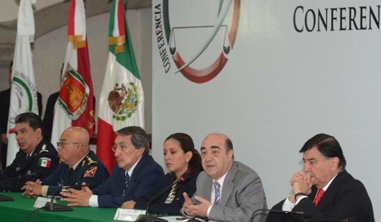 Palabras del Procurador General de la República, durante la Conferencia Nacional de Procuración de Justicia Zona Centro