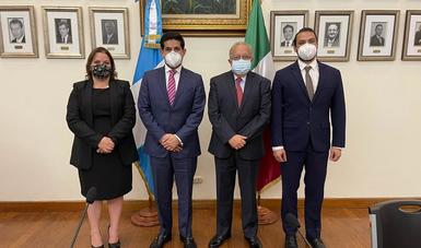 Concluye exitosamente gira de trabajo de funcionarios del Gobierno de México a Guatemala