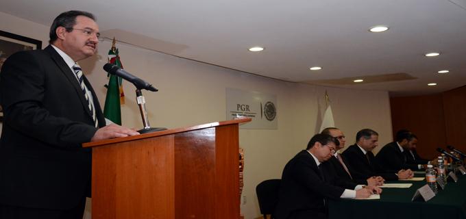 Intensifica PGR esquema operativo con procuradurías y fiscalías contra el delito de secuestro.
