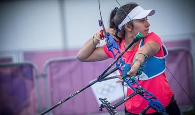 Valentina Vázquez Cadena, continúa con su preparación en el campo de tiro del Instituto Estatal de Cultura Física y Deporte del Estado de Nuevo León