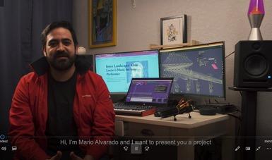 """El compositor Mario D. Alvarado presentará """"Música desde el cerebro""""."""